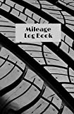 Mileage Log Book: logbook to keep track of your vehicle's mileage | cover car tire | gift | 100 pages | 5,25 x 8 inches
