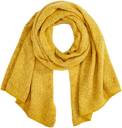 ONLY Damen ONLLIMA KNIT LONG SCARF ACC NOOS Schal, Gelb (Yolk Yellow Yolk Yellow), Einheitsgröße