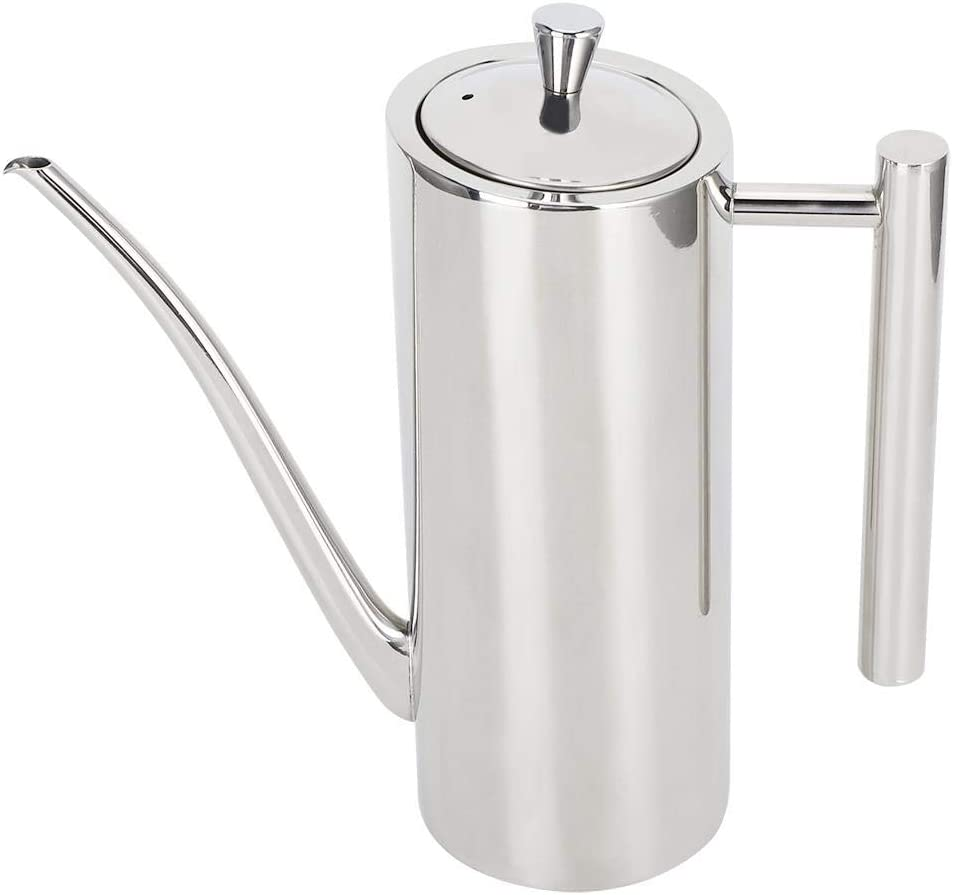 Stainless Steel Oil Kettle Max 42% OFF LeakageProof 0. High quality 0.5L Pot Bottle