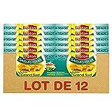 Lipton Saveurs du Soir Infusion Grand Sud Menthe et Réglisse 240 Sachets Pyramid® (Lot de 12x20 Sachets)