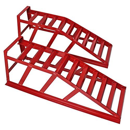 2 x WD Tools Auffahrrampe Auto Rampe Auffahrschiene Fahrzeugrampe CR03 Verladerampe