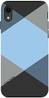 Macmerise IPCIXRTMI0430 Criss Cross Blugrey - Tough Case for iPhone XR - Multicolor (Pack of1)