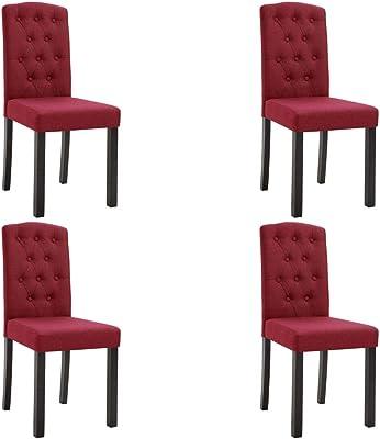 vidaXL 4X Chaises de Salle à Manger Chaises de Cuisine