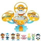 Octonauts Toys Sound And Light Octopod Castle Adventure Plsyset Barnacles Peso Kwazii Dashi Tweak Action Figure Toys Doll Kids Gift