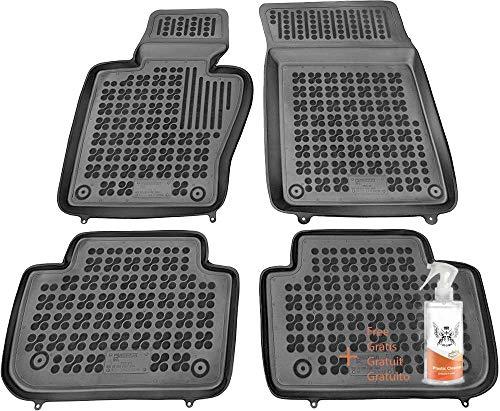 Alfombrillas de Goma Compatible con BMW X3 (E83) (2003-2010) + Limpiador de Plasticos (Regalo)