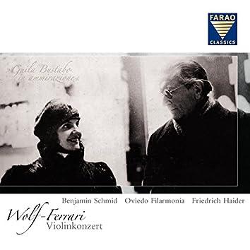 Wolf-Ferrari: Violinkonzert