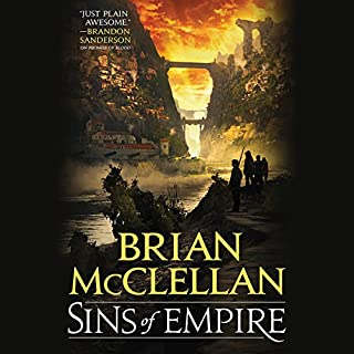 Sins of Empire                   By:                                                                                                                                 Brian McClellan                               Narrated by:                                                                                                                                 Christian Rodska                      Length: 20 hrs and 25 mins     1,870 ratings     Overall 4.7