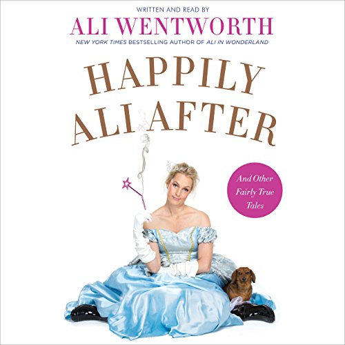 Happily Ali After audiobook cover art