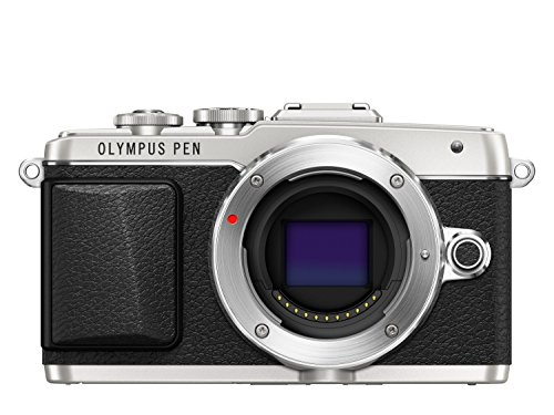 Olympus E-PL7 16MP Mirrorless Digital Camera with 3-Inch LCD (Silver) - International Version