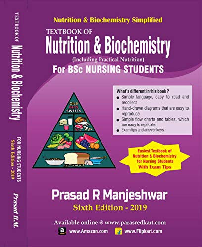 Nutrition & Biochemistry Simplified Sixth Edition 2019 - TextBook of Nutrition and Biochemistry for BSc Nursing Students