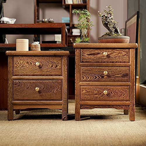 GUOCAO Louis Fashion Annatto Nightstand Chinese Multi-Function Edge Ark Locker Wenge Receive Ark Wood Short Ark Small Log Tea Table