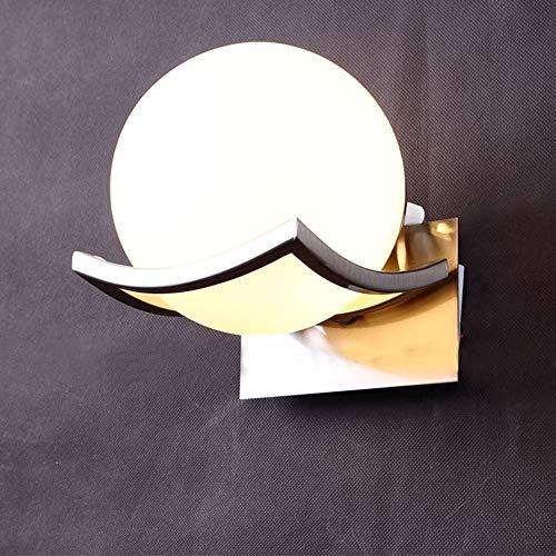 MJZHJD Estudio de la lámpara de Pared al por Mayor de Dormitorio lámpara de cabecera de la lámpara de Pared del Pasillo Luz de Pared
