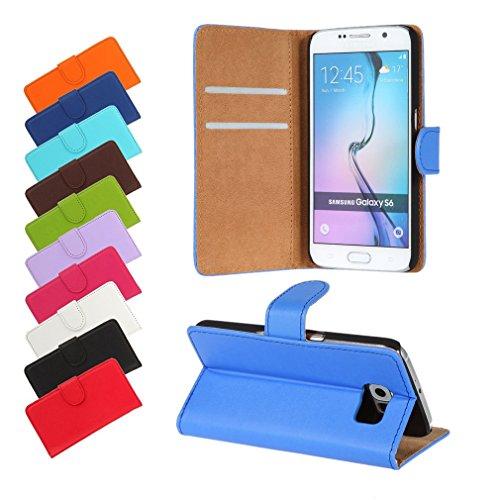 BRALEXX Huawei P9 Lite 2016 / P9 Lite 2016 Dual SIM Bookstyle-Tasche Hülle Hülle Schutz BLAU (zum Aufstellen, 2x Kartenfach, 1x Geldfach, Silikon-R&umschutz-Innenschale)
