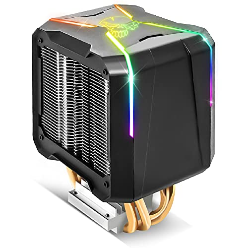 nsk Kit de Refroidissement AIR Force 120mm PWM Spirit of Gamer pour processeur avec éclairage LED ARGB - CPU