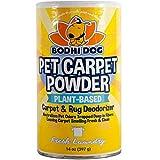 Natural Dog Odor Carpet Powder   Dry Pet Smell Neutralizer and Eliminator   Remove Urine Smells   Plant Based Biodegradable Room Deodorizer Loosens Fur and Dirt