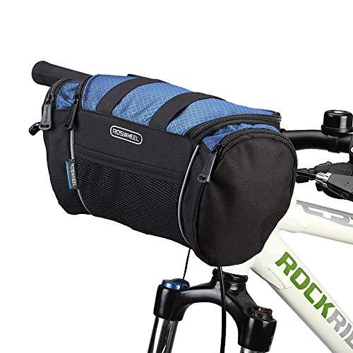 Lixada Bolsa para Manillar de Bicicleta MTB Tubo Frontal Bolsa de Hombro de Bicicleta 32 * 11 * 17cm