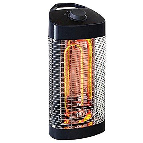 FISHTEC  Riscaldamento di Esterno/Interno oscillante 120 ° - IPX4 - 600 e 1200 W - Tubi fibra di carbonio