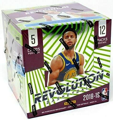 2018-19 Panini Revolution Chinese New Year Sealed Box Chase Luka Doncic and Trae Young Autographs #'d to Jersey number Look for Exclusive Chinese New Year parallels, inlcuding the Base Red, Emerald (#'d/88), and Holo Gold (#'d/8) of Lebron James First Main Lakers Card and Many More (including Doncic and Young of course) 12 packs, 5 cards per pack, 1 parallel per pack