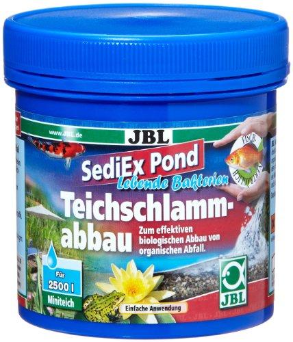 JBL SediEx Pond 250g, Bactéries et oxygène actif pour la dégradation des boues