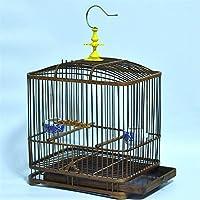 鳥かご ブティックバードケージ 竹かご スクエアケージ リビング下部引き出し