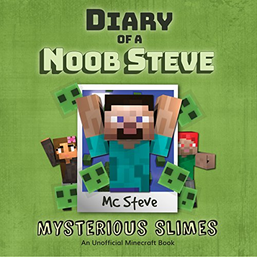 Diary of a Minecraft Noob Steve, Book 2 audiobook cover art