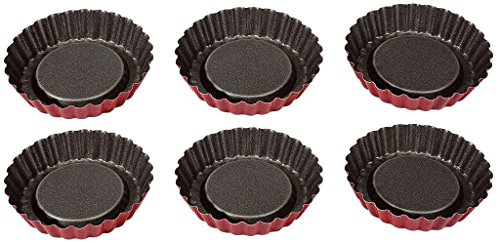 IMF Set de 6 moules a tartelettes Rioja - Ø 10 cm