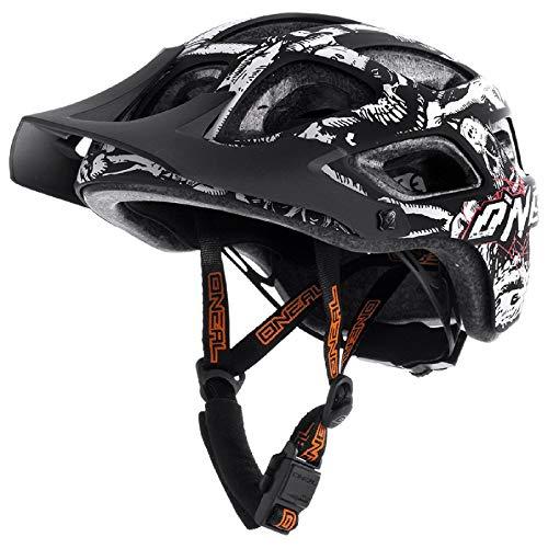 O'Neal Thunderball Youth Helmet Menace II mat zwart/neon oranje