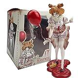 LvwQ Estatua de Terror Bishoujo IT Pennywise Joker Figura de acción de PVC Estilo de niña estatuilla...