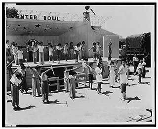 Infinite Photographs Photo: 1942 Fresno Assembly Center - Japanese Internment Camp Size: 8x10 (Approximately)