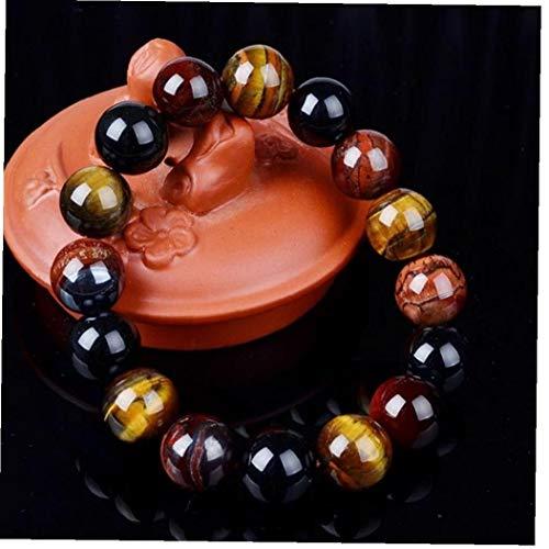Unieke 10 mm Nieuwe Oog Elegante Kraag Geschenken Boeddha Armbanden Trendy Natuursteen Sieraden voor Vrouwen Mannen armband femme