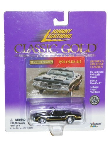Johnny Lightning 1970 Olds 442 Classic Gold Collection by Johnny Lightning