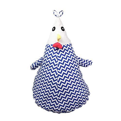 LDIW para Silla De Puf para Niños para Juguetes Ropa de Cama Almohadas (sin Relleno) Extra Peluches Organizador de Puff Gigante,Azul