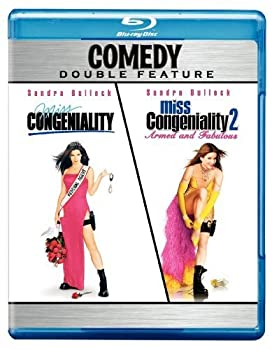 Miss Congeniality / Miss Congeniality 2  Armed and Fabulous  Comedy Double Feature  [Blu-ray]
