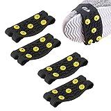 'N/A' LERTREEUK - 2 pares de crampones antideslizantes para alpinismo, escalada, pinchos, zapatos
