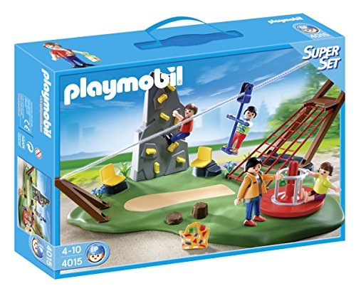 PLAYMOBIL - SuperSet Parque Infantil (4015)
