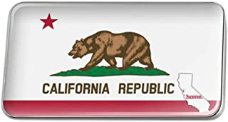 GRAPHICS & MORE California CA Home State Flag Licensed Rectangle Lapel Pin Tie Tack
