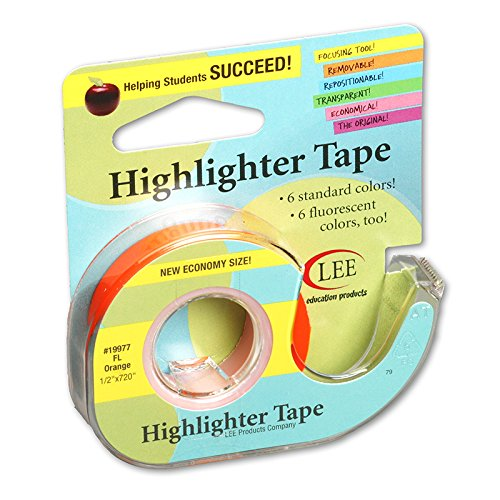 LEE PRODUCTS Manufacturer direct delivery COMPANY REMOVABLE HIGHLIGHTER of Dedication Set 12 TAPE