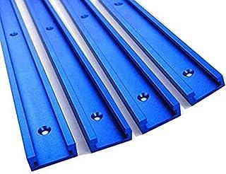MULY 30 Typ 500 mm T-Track T-Slot Mitra Track, Aluminiumlegierung T Track Miter Jig Fixture Slot für Tisch Saw Router Tisch Holzverarbeitung Werkzeug