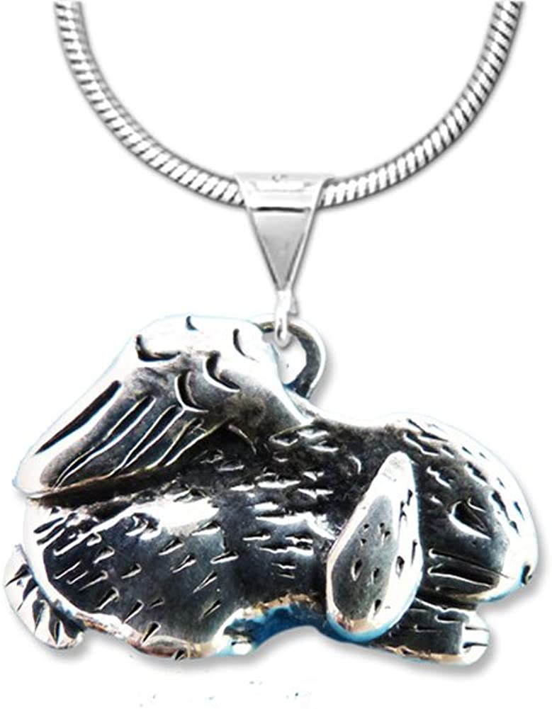 The Arlington Mall Magic Zoo 70% OFF Outlet Sterling Pendant Rabbit Memorial Silver