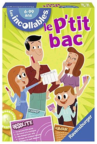 Ravensburger - 26567 - Jeu de Société - Le P Tit Bac des Incollables