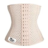 Grasshopr - Waist Trainer Trimmer and Slimming Corset/ 3 Hooks Girdle with Spiral