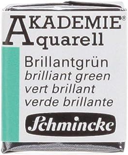 Schmincke Künstlerfarben Akademie-Aquarellfarbe 1-2 Napf, Brilliantgrün [Spielzeug]