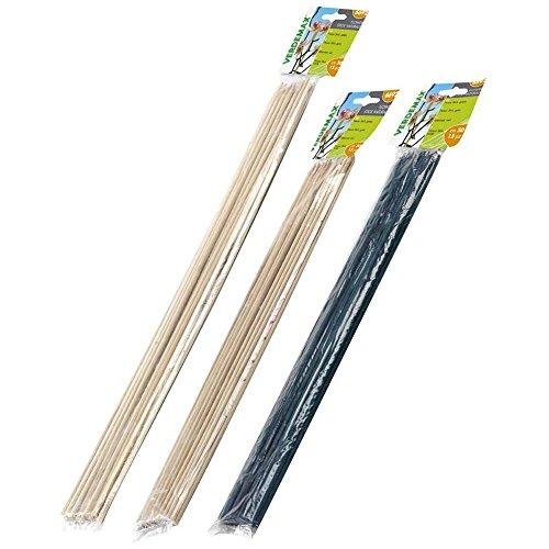 Verdemax 6682 - Soporte de bambú (20 piezas, 40 cm)