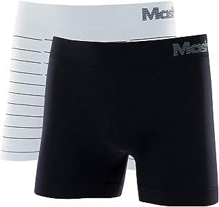 Kit 2 Cuecas Boxer Microfibra Sem Costura, Mash, Masculino