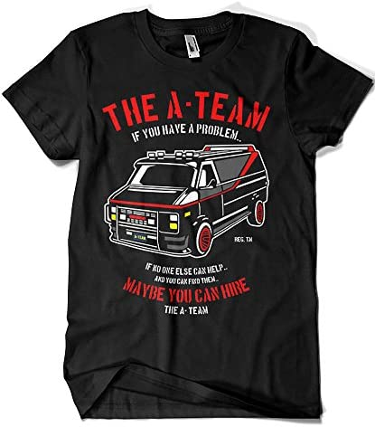 Camisetas La Colmena 4209-Parodia, The A Team