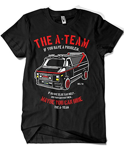 Camisetas La Colmena 4209-Parodia, The A Team XXL