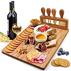 Hossejoy Bamboo Cheese Board Set Review
