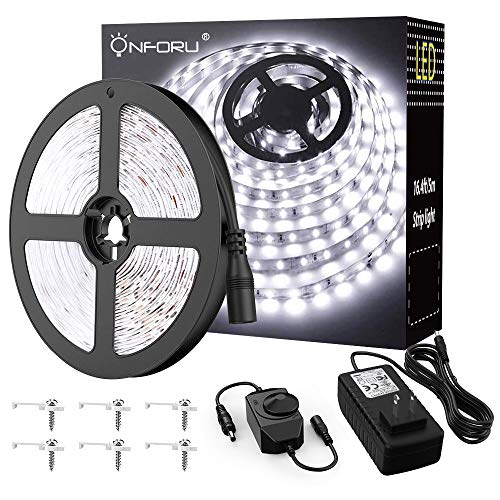 Our #2 Pick is the Onforu 16.4ft LED Strip Light