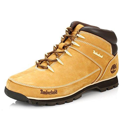 Timberland Euro Sprint Hiker, Botas para Hombre, Amarillo Wheat, 43.5 EU