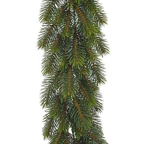 Künstliche TANNENGIRLANDE REAL ca 185 cm. Mit ca 168 Tannen- Trieben.